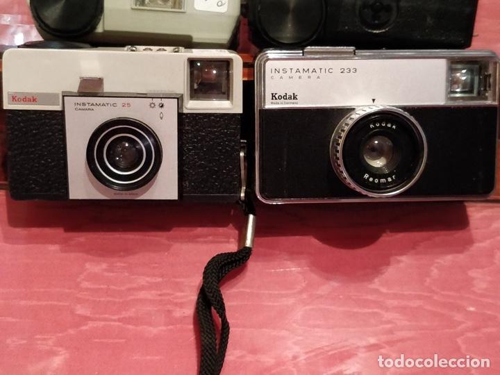 Cámara de fotos: Lote de 3 cámaras KODAK INSTAMATIC, 233, 200 POCKET y 25, fundas originales. - Foto 3 - 141297206