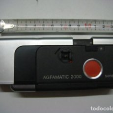 Cámara de fotos: CAMARA COMPACTA AGFAMATIC 2000..FORMATO 110..METALICA..ALEMANIA-FUNCIONANDO-1975. Lote 142914554