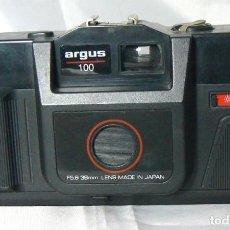 Cámara de fotos: ANTIGUA CÁMARA FOTOGRÁFICA ARGUS 100 .FABRICADA EN JAPÓN.OBJETIVO F:5,6 38MM.. Lote 143278738