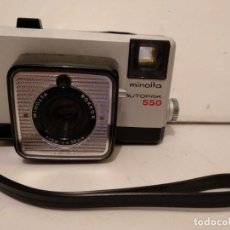 Cámara de fotos: MINOLTA AUTOPAK 550.AÑO 1969. Lote 143412074