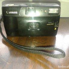 Cámara de fotos: CANON JUNIOR S MACRO. Lote 143896330