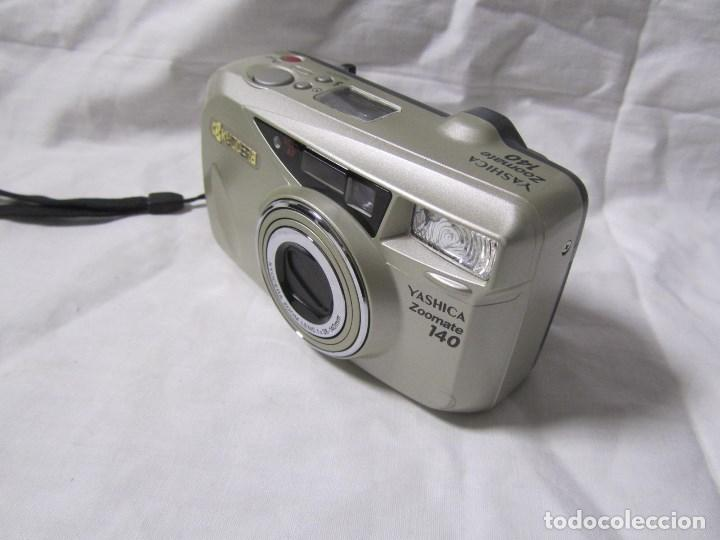 Cámara de fotos: Máquina fotográfica Yashica Zoomate Camera 140 Kyocera. Funda original - Foto 2 - 145287162