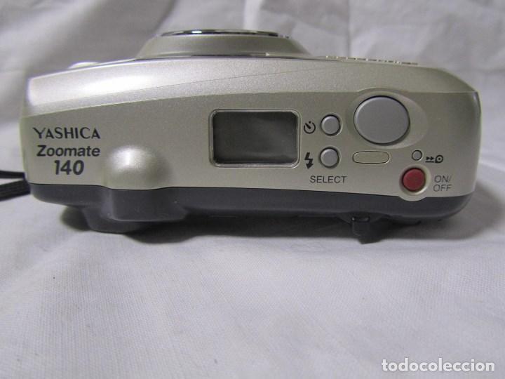 Cámara de fotos: Máquina fotográfica Yashica Zoomate Camera 140 Kyocera. Funda original - Foto 8 - 145287162