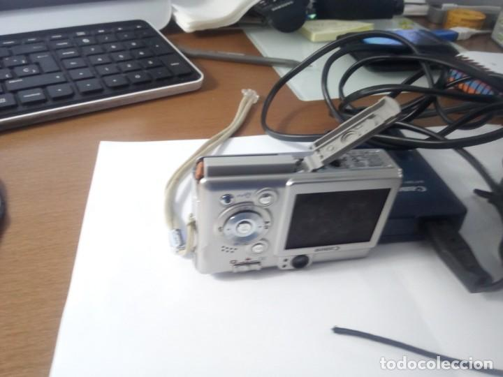 Cámara de fotos: Canon Digital IXUS 50 - Foto 4 - 150020774