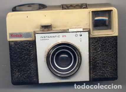 CAMARA KODAK INSTAMATIC 25 - FOTO ADIC (Cámaras Fotográficas - Panorámicas y Compactas)