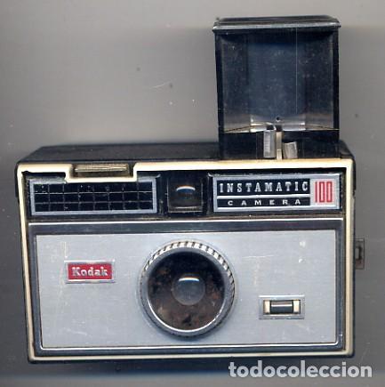 CAMARA KODAK INSTAMATIC 100 - FOTO ADIC (Cámaras Fotográficas - Panorámicas y Compactas)