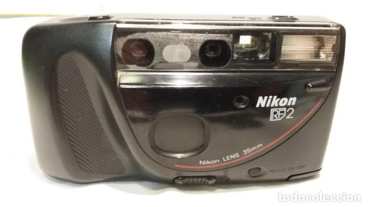 Cámara de fotos: Cámara de fotos compacta analogica Nikon RF 2/ Nikon One • Touch 100. Lens 35mm - Foto 3 - 150765590