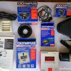 Cámara de fotos: OLYMPUS CAMEDIA C-2500L CON MUCHOS ACCESORIOS. Lote 150785750