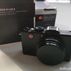 Cámara de fotos: LEICA D-LUX 5. CÁMARA COMPACTA. Lote 155521450