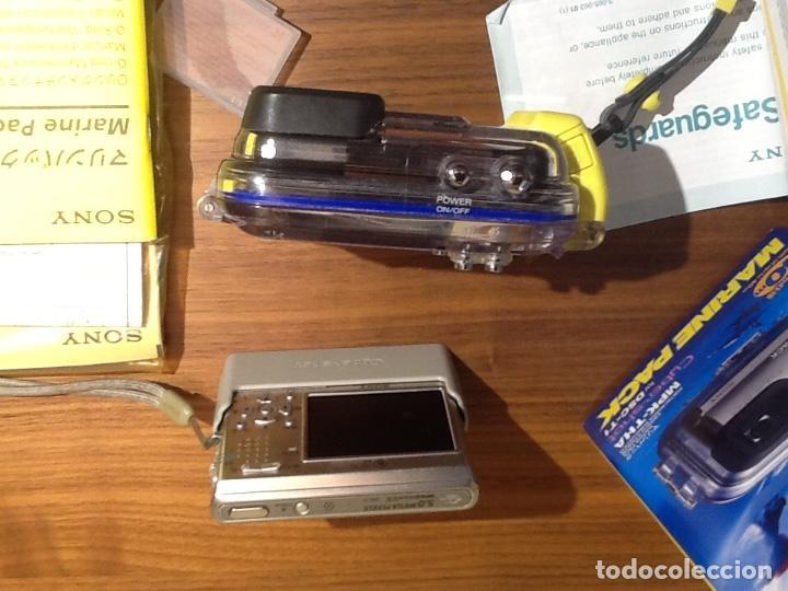 Cámara de fotos: Sony DSC T1 y Carcasa Submarina - Foto 2 - 155895362