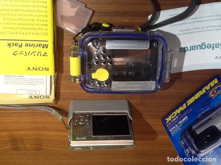 Cámara de fotos: Sony DSC T1 y Carcasa Submarina - Foto 3 - 155895362