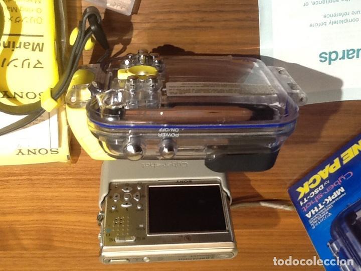 Cámara de fotos: Sony DSC T1 y Carcasa Submarina - Foto 4 - 155895362