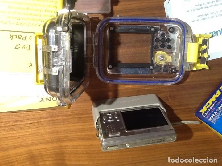 Cámara de fotos: Sony DSC T1 y Carcasa Submarina - Foto 6 - 155895362