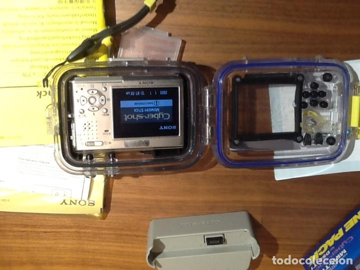 Cámara de fotos: Sony DSC T1 y Carcasa Submarina - Foto 7 - 155895362