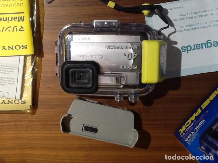 Cámara de fotos: Sony DSC T1 y Carcasa Submarina - Foto 8 - 155895362