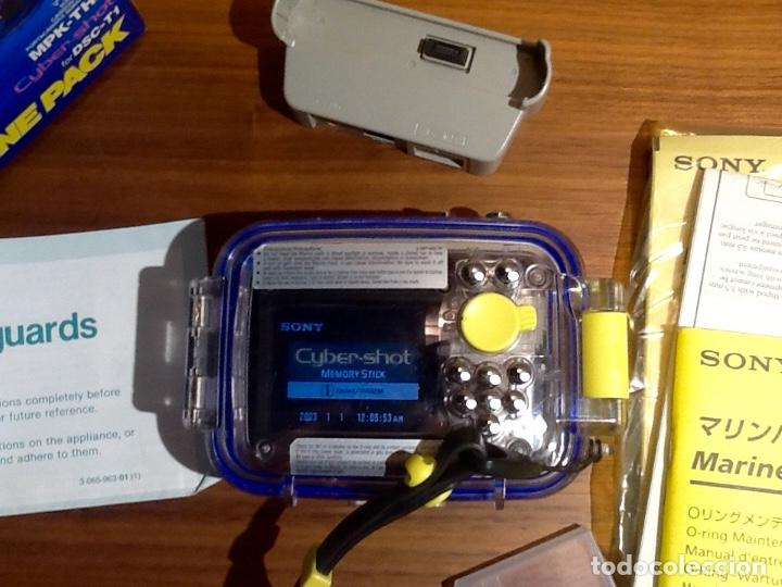 Cámara de fotos: Sony DSC T1 y Carcasa Submarina - Foto 9 - 155895362