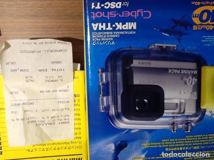 Cámara de fotos: Sony DSC T1 y Carcasa Submarina - Foto 11 - 155895362
