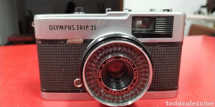 CAMARA OLIMPUS TRIP 35 (Cámaras Fotográficas - Panorámicas y Compactas)