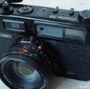 Cámara de fotos: YASHICA ELECTRO 35 GT CON ADAPTADOR Y PILA NUEVA. Lote 156597386