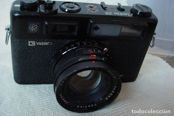 Cámara de fotos: Yashica Electro 35 GT con adaptador y pila nueva - Foto 3 - 156597386