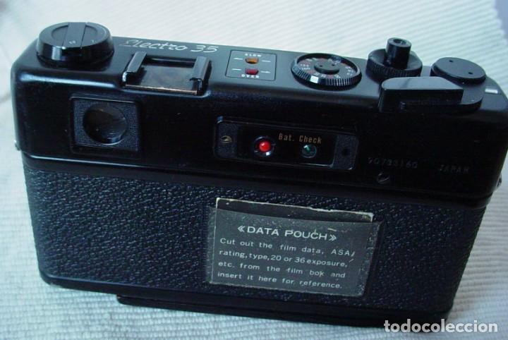 Cámara de fotos: Yashica Electro 35 GT con adaptador y pila nueva - Foto 5 - 156597386