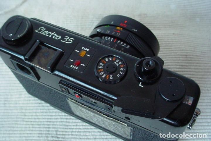 Cámara de fotos: Yashica Electro 35 GT con adaptador y pila nueva - Foto 6 - 156597386