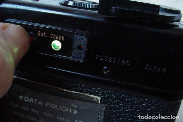 Cámara de fotos: Yashica Electro 35 GT con adaptador y pila nueva - Foto 7 - 156597386