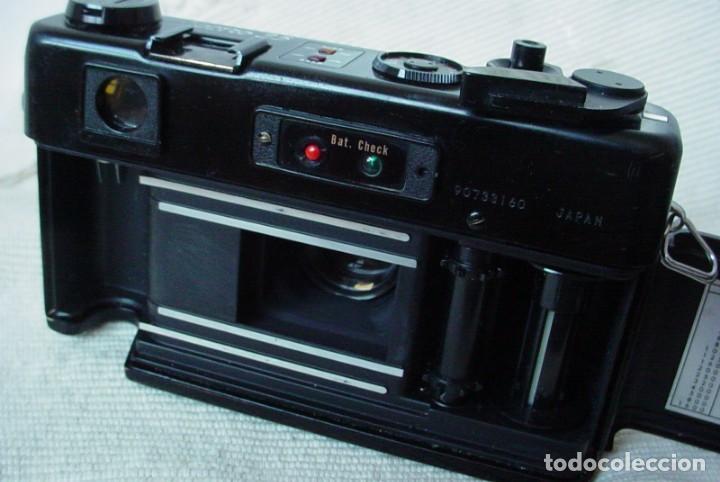 Cámara de fotos: Yashica Electro 35 GT con adaptador y pila nueva - Foto 8 - 156597386