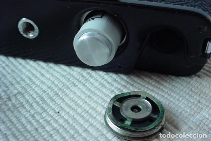 Cámara de fotos: Yashica Electro 35 GT con adaptador y pila nueva - Foto 9 - 156597386