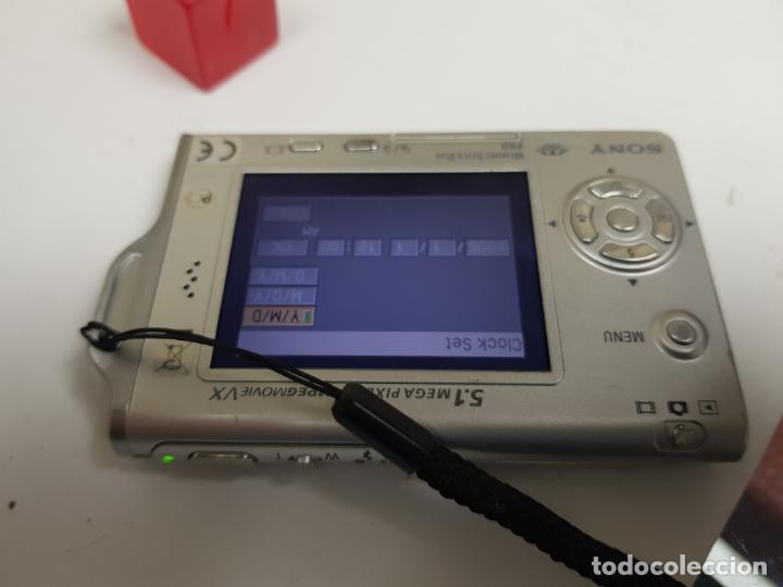 Cámara de fotos: sony ciber shot con cargador funcionando - Foto 2 - 159736594