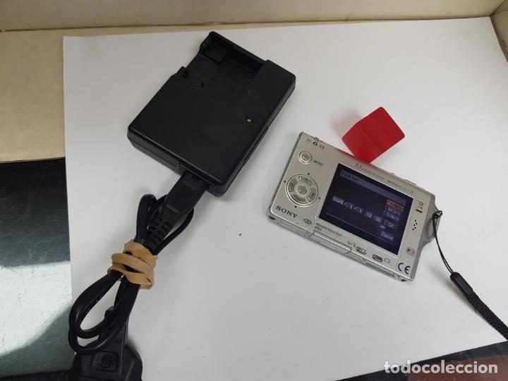 Cámara de fotos: sony ciber shot con cargador funcionando - Foto 4 - 159736594