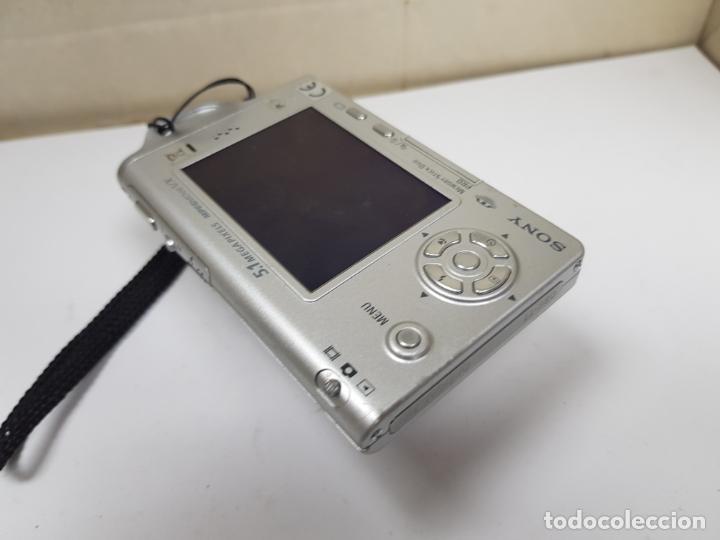 Cámara de fotos: sony ciber shot con cargador funcionando - Foto 6 - 159736594