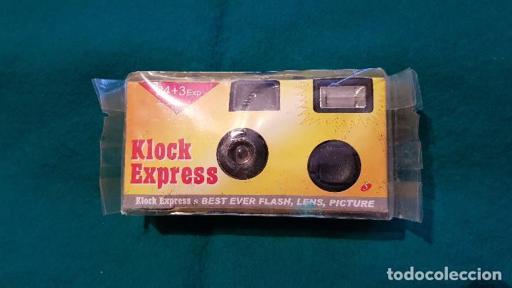 Cámara de fotos: CAMARA FOTOS DESECHABLE CLOCK EXPRESS - Foto 2 - 164299678