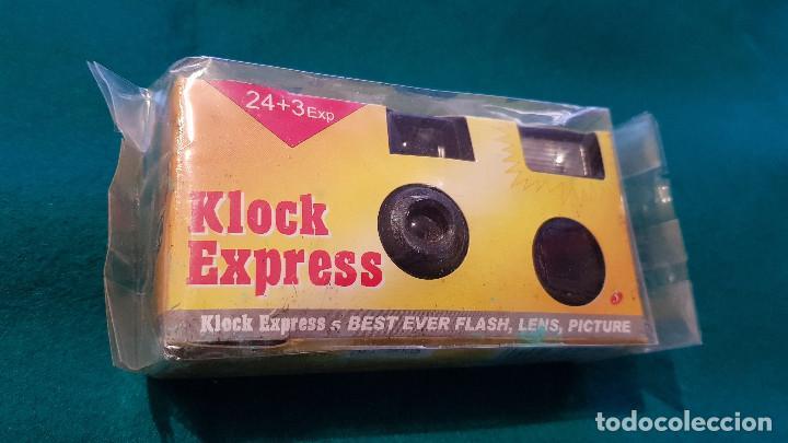 Cámara de fotos: CAMARA FOTOS DESECHABLE CLOCK EXPRESS - Foto 3 - 164299678