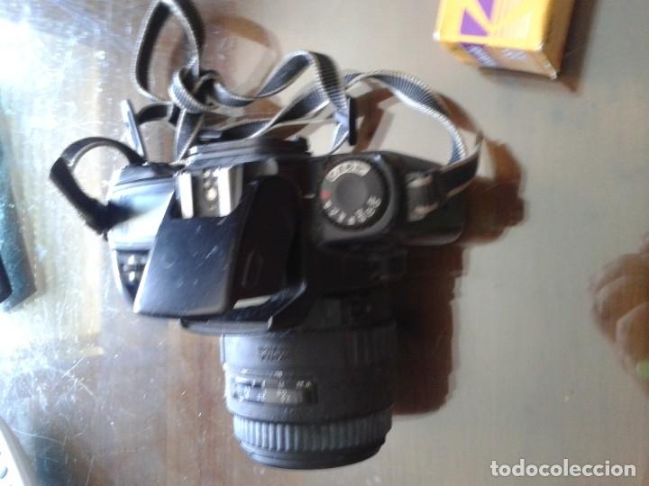 Cámara de fotos: IMPRESIONANTE CAMARA CANON EOS ,1000F,NO DIGITAL ,AÑOS 90 FUNCIONANDO - Foto 4 - 165546614