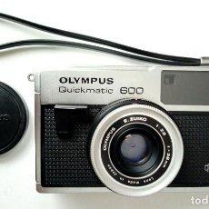 Cámara de fotos: OLYMPUS QUICKMATIC 600 + CARRETE FORMATO 126 - MADE IN JAPAN - VINTAGE - HIPSTER. Lote 169724988