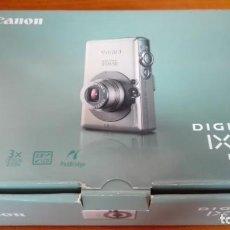 Cámara de fotos: CÁMARA DIGITAL COMPACTA CANON IXUS 50 5 MPX. Lote 169729156