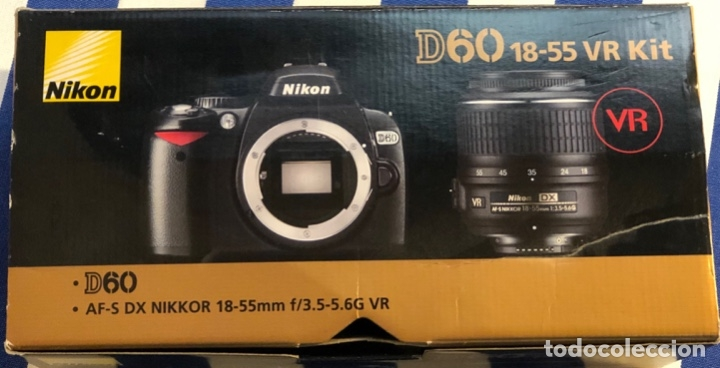 Cámara de fotos: Nikon Digital Reflex D60 + objetivo 18-55 mm + funda - Foto 4 - 172732162