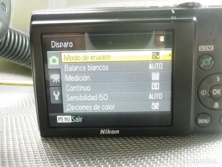 CAMARA DIGITAL COMPACTA NIKON COOLPIX 12,2 MEGAPIXELES + CARGADOR COMO NUEVA ! (Cámaras Fotográficas - Panorámicas y Compactas)