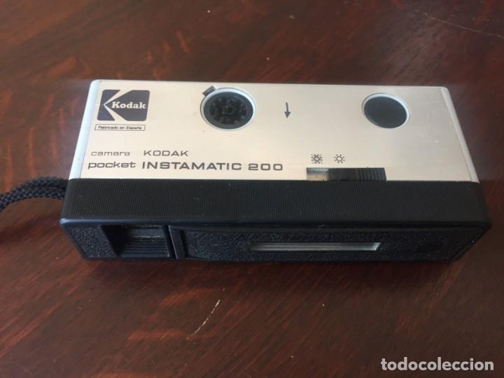 Cámara de fotos: Cámara fotográfica vintage de bolsillo marca Kodak Pocket instamatic 200. - Foto 2 - 173670657