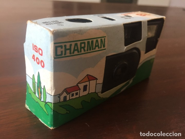 Cámara de fotos: Camara fotográfica desechable marca Charman, de 26 disparos, con flax incorporado, ISO 400. - Foto 4 - 173754000