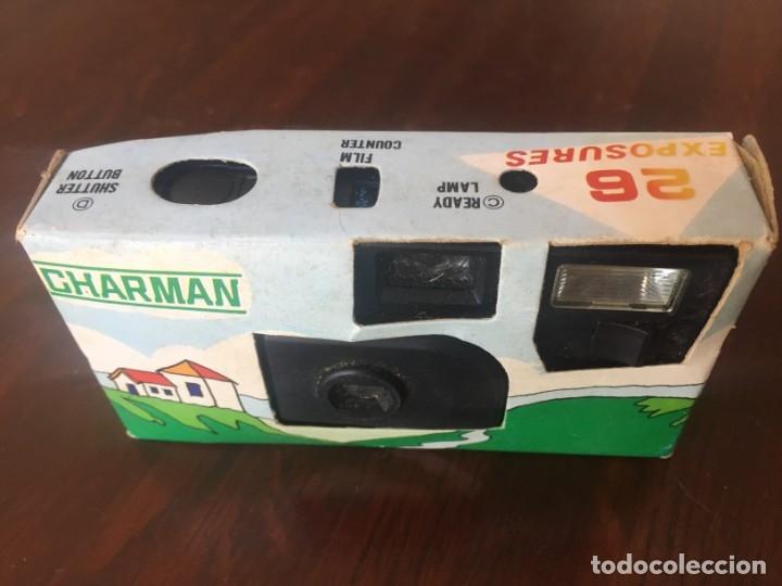 Cámara de fotos: Camara fotográfica desechable marca Charman, de 26 disparos, con flax incorporado, ISO 400. - Foto 7 - 173754000