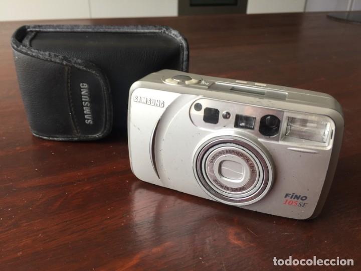 Cámara de fotos: Cámara fotográfica Samsung Fino 105 SE zoom óptico 38-105 mm, analógica, con batería CR2 de 3.0v. - Foto 3 - 173795263