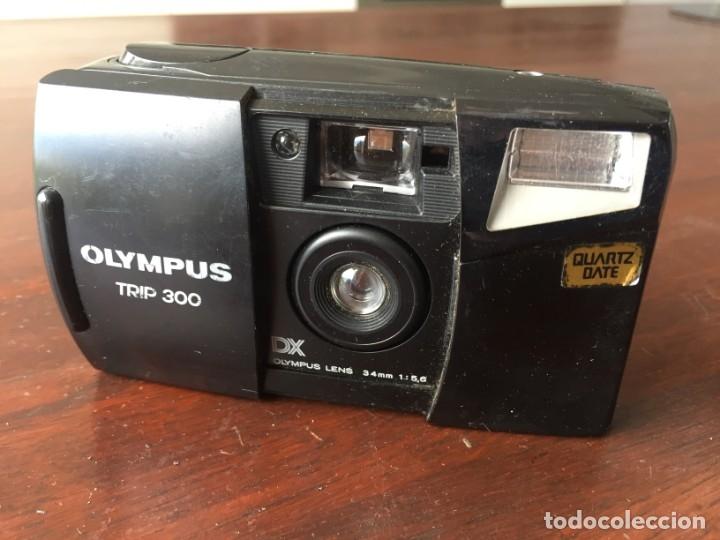 Cámara de fotos: Cámara fotográfica Olympus trip 300 año de fabricación 1994, Quartz date - Foto 2 - 173796265