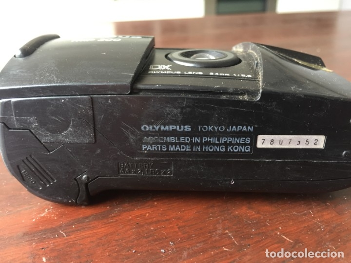Cámara de fotos: Cámara fotográfica Olympus trip 300 año de fabricación 1994, Quartz date - Foto 5 - 173796265