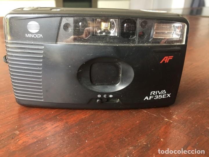 Cámara de fotos: Cámara fotográfica analógica Minolta Riva AF35EX, para carrete de 35 mm, funciona con pilas de 1.5v - Foto 6 - 173797454