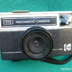 Cámara de fotos: KODAK INSTAMATIC 77X...FUNCIONANDO..FORMATO 126- AÑOS 70. MADE IN ENGLAND.. Lote 175193364