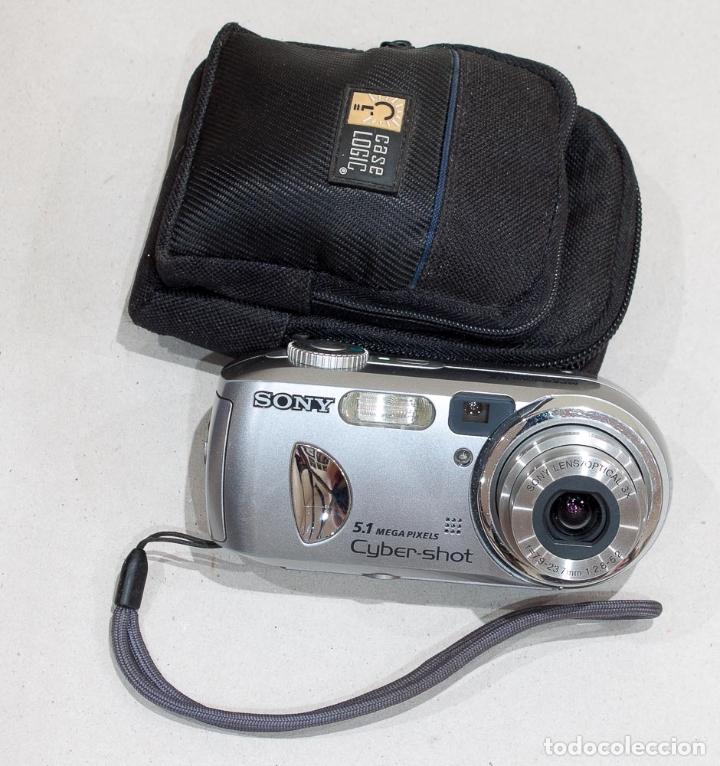 Cámara de fotos: CAMARA FOTOGRAFICA DIGITAL COMPACTA SONY CYBER-SHOT 5.1 MP. - Foto 2 - 175741533