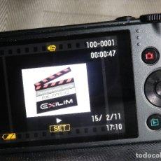 Cámara de fotos: GRAN CAMARA DIGITAL COMPACTA CASIO EXILIM EX-RZ100 ZOOM DE 25 X GRAN CALIDAD. Lote 176332809
