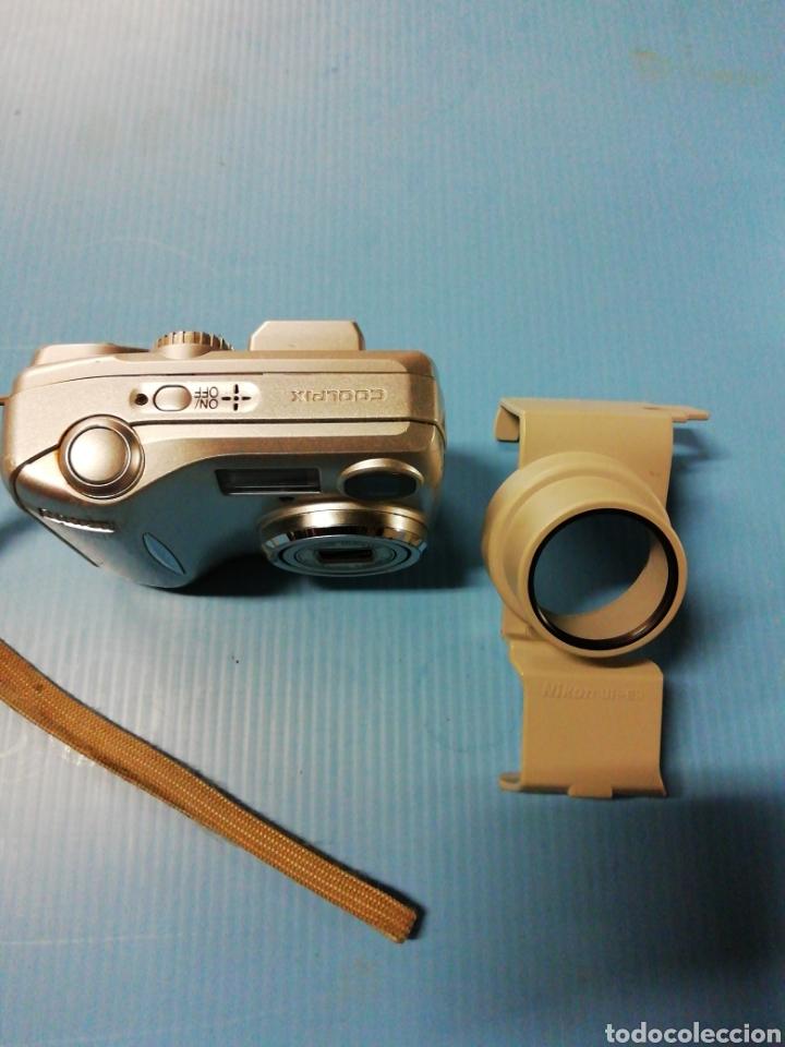 Cámara de fotos: Cámara digital Nikon coolpix 2200 con adaptador - Foto 2 - 178006064